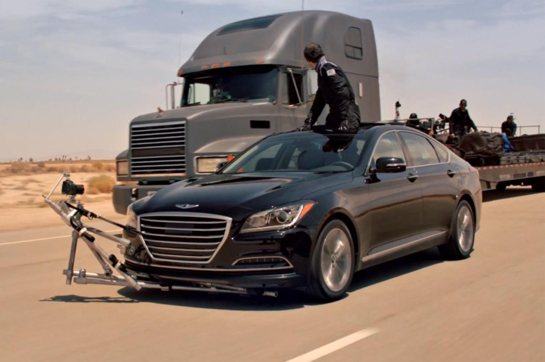 Où est le conducteur? Hyundai en mode démo !