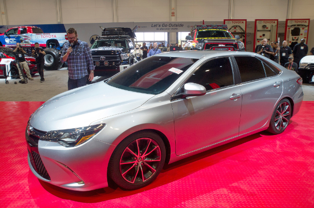 2015-toyota-camry-sleeper-front-three-quarters
