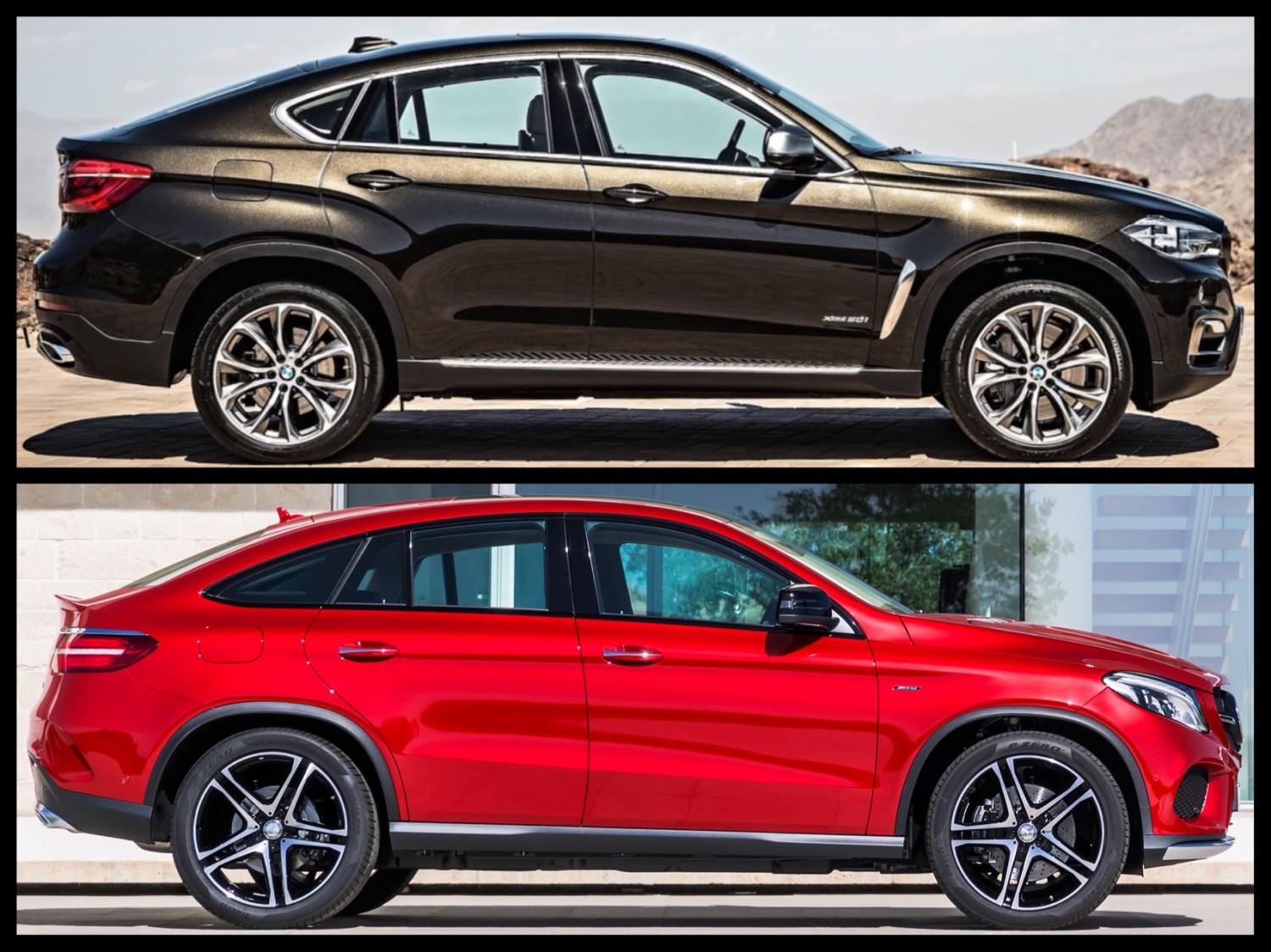 GLE Coupe VS. X6 Seriously ?