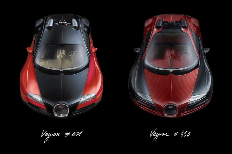 Veyron #1 & # 450