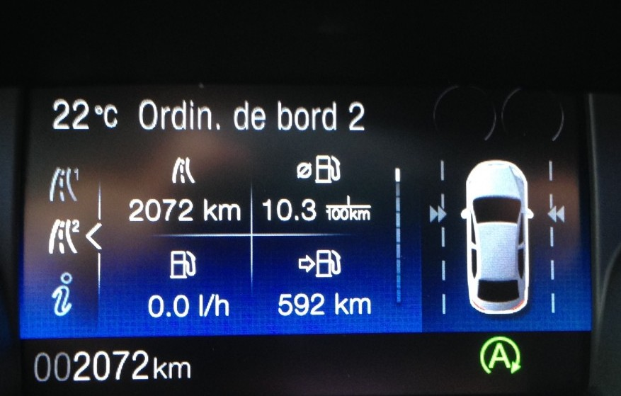 2072 km plus tard !