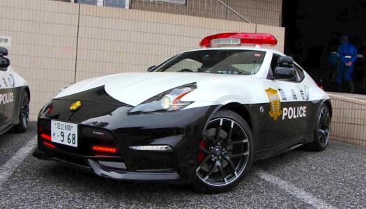 La Police a enfin droit a sa 370Z Nismo !