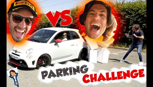 Défi au FAM en Abarth 595 Pista #parking challenge